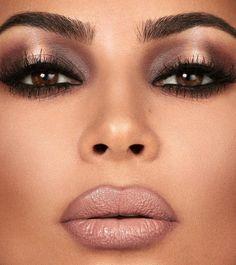 I love this look Mario Dedivanovic did using the Glam Bible Smokey Vol 1 collect. - I love this look Mario Dedivanovic did using the Glam Bible Smokey Vol 1 collection. Looks like my - Cute Makeup, Glam Makeup, Gorgeous Makeup, Makeup Geek, Makeup Inspo, Beauty Makeup, Makeup Ideas, Kim K Makeup, Mac Makeup Looks