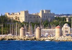 The city of Rhodes was formed by the cities of Ialyssos, Kamiros and Lindos in 408 BC,[3] and prospered for three centuries during its Golden Age, when sea trade, skilled shipbuilders, and open-minded politicians of the city kept it prosperous until Roman times.