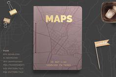 Map Patterns By Irene Demetri on YouWorkForThem.