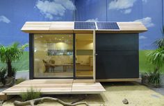 Echo Living Wave Eco Cabin Exterior