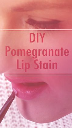 DIY Berry Lip Stains