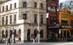 Hill of Content Bookshop, Bourke Street, Melbourne