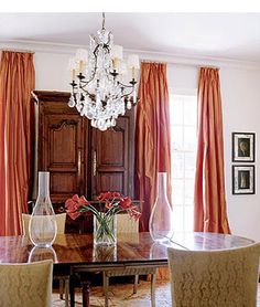 I could live with orange drapes instead of orange walls.