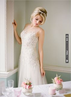 beaded wedding ideas | CHECK OUT MORE IDEAS AT WEDDINGPINS.NET | #weddingfashion