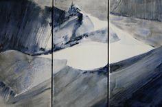 Céline Lorentz Celine, Abstract, Artwork, Painting, Outdoor, Mountain, Summary, Outdoors, Work Of Art