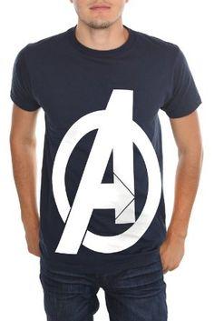 a4ffcfec618ac9 Avengers T-shirt  Marvel Universe The Avengers Logo T-Shirt Avengers  Outfits