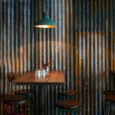 London restaurant by Brinkworth resembles<br /> a ramshackle farm building