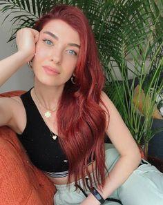 Turkish Beauty, Crafts For Girls, Turkish Actors, Kaftan, Dreadlocks, Long Hair Styles, Instagram, Google, Hair Colors
