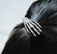 Creative Rock Punk Style Skeleton Hand Hair tie - Headpieces - Accessories Free Shipping