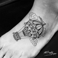 tattoo friday tatuagem dani bianco balão