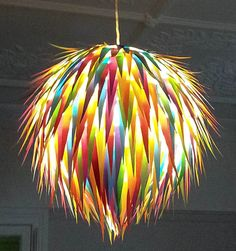 Lollipop  Colourful Handmade Light Shade  bright lights ceiling light kids lights