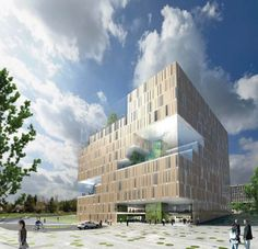 Eco-Økern center by A-lab
