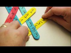 Stick Chain Reaction - YouTube ~ Great Explanation from The Children's Museum of Houston.