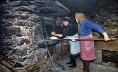 Forno para cozer o pão