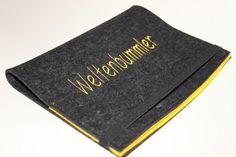 Reisepasshülle - Familientasche  von mikandi auf DaWanda.com