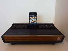 Atari 2600 Speaker Dock for iPhone