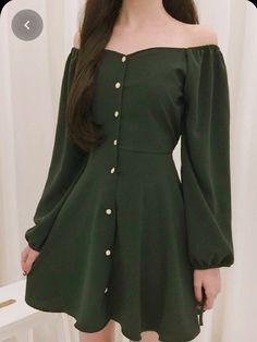 Korean Fashion Dress, Korean Dress, Ulzzang Fashion, Korean Outfits, Cute Korean Fashion, Asian Fashion, Korean Clothes, Teen Fashion Outfits, Mode Outfits