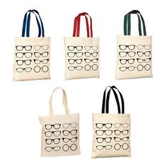 Perfect Vision Glasses Tote Bag You Choose by seekerofhappiness, $10.00