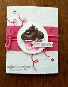 Happy Birthday Cupcake! | Inker's Workshop | Bloglovin'