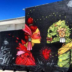 Saner es uno de los artistas que suele ser de su interés, existen dos factores  que lo destacan, emplea el graffiti, manifestación que sienten cercana y emplea elementos que hacen referencia a las raíces mexicanas combinandolos con elementos como el rock, el amor de pareja o la sutil crítica social.