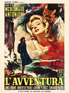 "Movie Posters:Foreign, L'Avventura (Athos, 1961). French Grande (47"" X 63"").. ... Image #1"