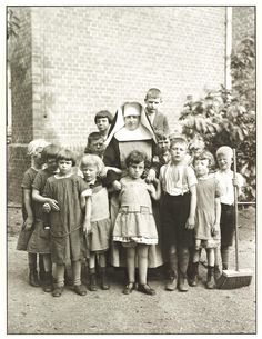 Author - August Sander - Foster-mother. c. 1930.
