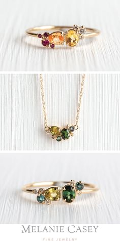 Paradise Jewelers Solid 14K Yellow Gold Cluster Cubic Zirconia Flower Pendant