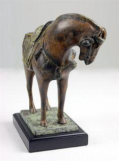tang horse sculptures | Store - Tang Horse Bronze Sculpture, Ancient Tang Horse, Ancient Horse ...