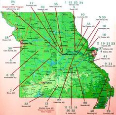 What a great map to help you find your perfect Missouri Winery Venue!! <3  #wherebridesgo