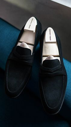 Zonkey Boot ZB169 Black Buck High Street Last Penny Loafer at B&TAILOR