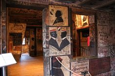HEIDELBERG STUDENTENKARZER A preserved college lock-up that recalls a clubhouse approach to discipline