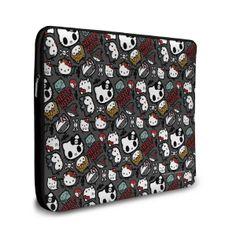 Capa de Notebook Hello Kitty - Skull