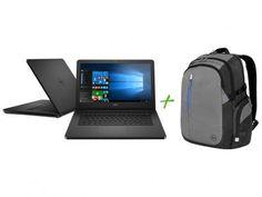 """Notebook Dell Inspiron i14-5458-B08P Intel Core i3 - 4GB 1TB LED 14"""" + Mochila para Notebooks com as melhores condições você encontra no Magazine Barateiromoveis. Confira!"""