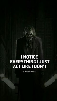 Joker Quotes, get some inspirations from these inspirational life quotes; wisdom… Joker Quotes, get some inspirations from these inspirational life quotes; 89 Joker Most Loved Quotes M Joker Qoutes, Joker Frases, Best Joker Quotes, Badass Quotes, Best Quotes, Quotes About Attitude, Inspiring Quotes About Life, Inspirational Quotes, Dark Quotes