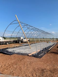 How To Build a Greenhouse or Hoop House Tunnel Greenhouse, Build A Greenhouse, Greenhouse Growing, Greenhouse Gardening, Greenhouse Ideas, Swimming Pool Construction, Cold Frame, Potting Sheds, Garden Structures