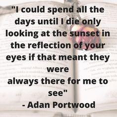 Day 3 #lovemonth: A poem from #adanportwood Please enjoy. #love #couples #romancemetravel