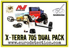 ¡¡ X-Terra 705 DUAL PACK de Minelab disponible en http://www.eurodetection.com !! #Minelab #Oro #DetectorMetal #Detectorists #Gold #DetectordeMetales #Hobby