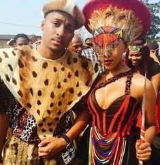 **Handcrafted African jewellery is well loved for its authentic beauty. Zulu Traditional Wedding Dresses, Zulu Traditional Attire, South African Traditional Dresses, Traditional Wedding Attire, Traditional Weddings, Traditional Design, African Inspired Fashion, African Fashion Dresses, African Dress
