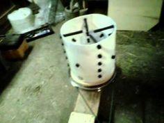 DIY Chicken Plucker.  Gotta make one of these when we start raising meat birds!