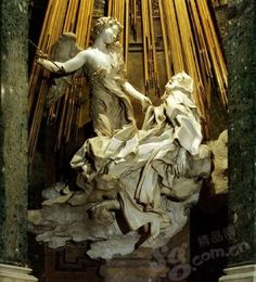 "Sculpture ""Shengteleisa obsession""  by the most outstanding Baroque sculptor Bernini"