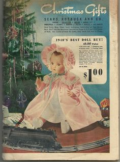 Sears Christmas Wish Book 1940