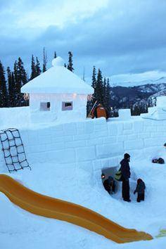 Keystone, CO-- Ice Fort...  Dying to see if this looks as cool in person.