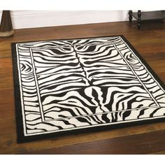 black and white area rugs cheap