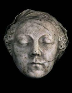 Catherine De' Medici Death Mask  Born 13 April 1519 Florence,Republic of Florence Died 5 January 1589(aged69) Château de Blois,Kingdom of France