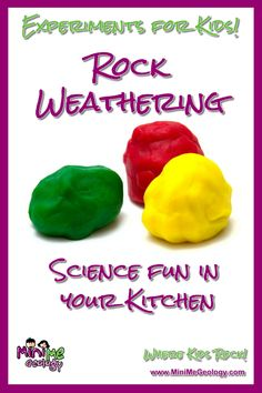 Rock Experiments, Pen Camera, Rock Cycle, Writing About Yourself, Hands On Learning, A Classroom, Geology, Teaching Kids, You Can Do