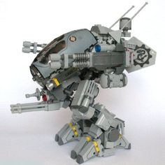 Light scout mech MK8: A LEGO® creation by Kobalt . : MOCpages.com