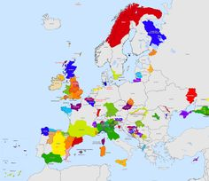 Map of active separatist movements in the European Union some serious, some not so much. European Map, European History, World History, Alternate History, Prehistory, Historical Maps, Diagram, Illustration, Bosnia