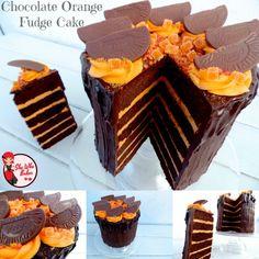 Chocolate Orange Fudge Cake Recipe