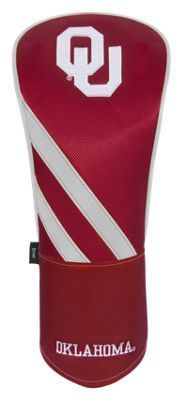 Team Effort NCAA Driver Headcover - University of Oklahoma