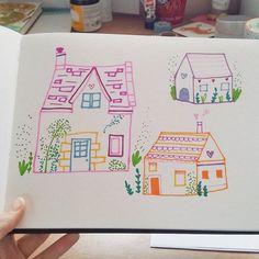 Sketchbook warmups from earlier  Instagram Posts